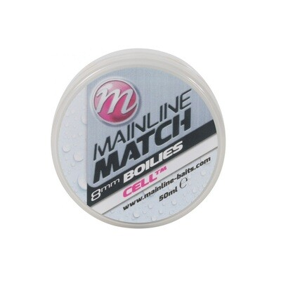 Match Boilies 8mm - White - CellTM **