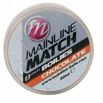 Match Boilies 8mm - Orange - Chocolate **