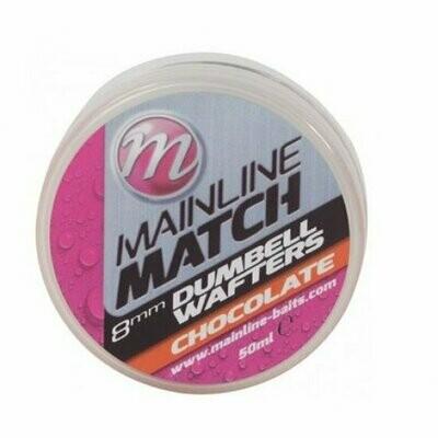 Match Wafters 8mm - Orange - Chocolate **