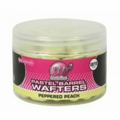 Pastel Wafter Barrels Peppered Peach