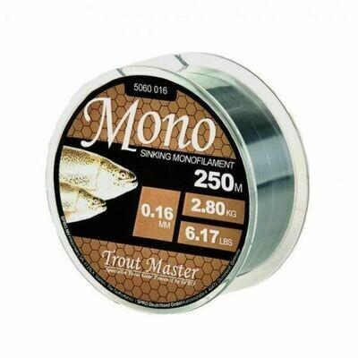 Trout master: Mono sinking monofilament