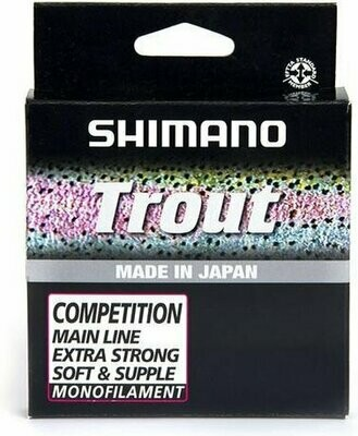 Shimano trout competition main line