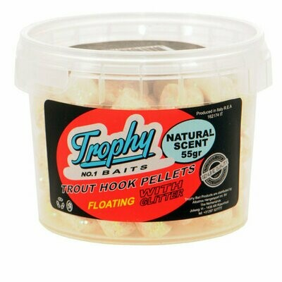 Trophy pellets natural scent wit