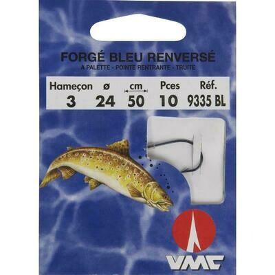 VMC forgé blue renversé onderlijn forel 50cm
