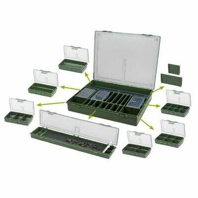 Prowess set rangement 1GM box + rig box + 6 boxes