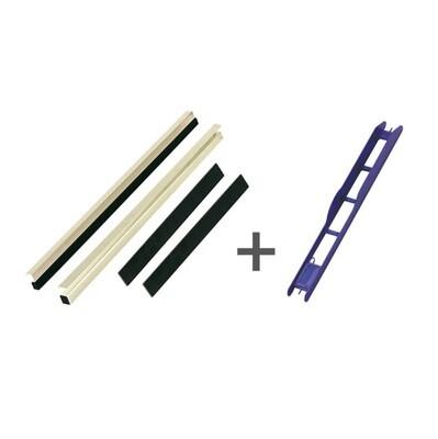 Kit reglette casier 30mm