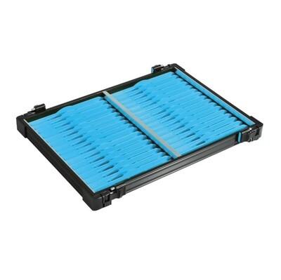 Casier noir 30mm + 22 pliors bleu