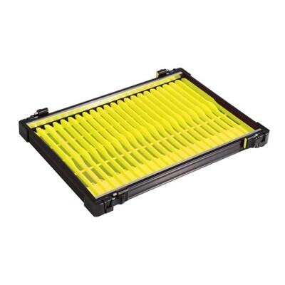 Casier noir 30mm + 22 pliors jaune