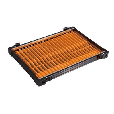 Casier noir 30mm + 22 pliors orange