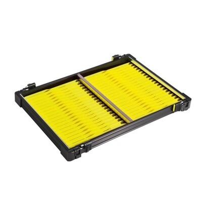 Casier noir 30mm + 42 pliors jaune