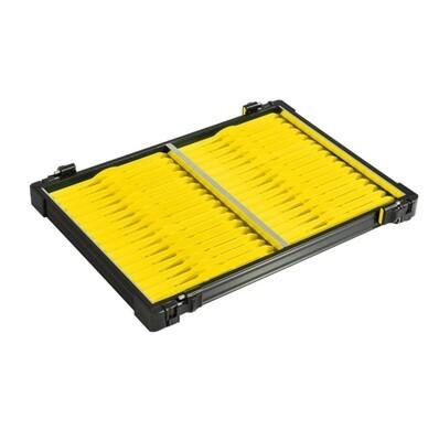 Casier noir 30mm + 32 pliors jaune
