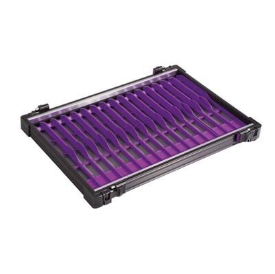 Casier noir 30mm + 22 pliors violetes