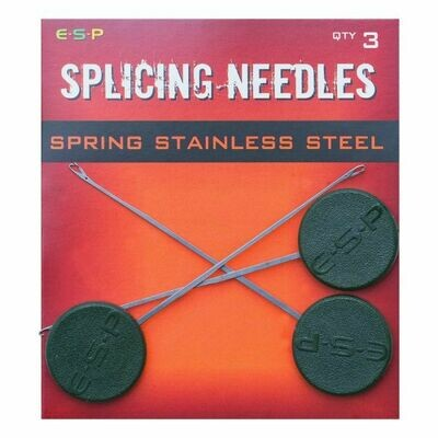 Splicing needles