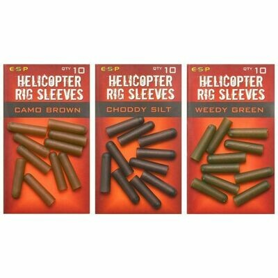Helicopter rig sleeves
