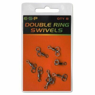 Double ring swivels