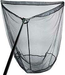 Tribal landingnet met stink bag