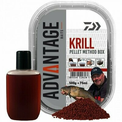 Krill pellet method box