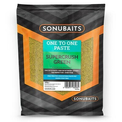 One to one paste supercrush green