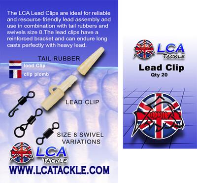 Lead Clip Brown