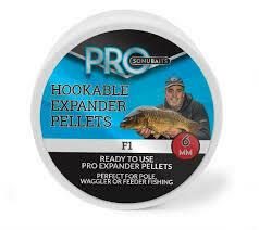 Hookable expander pellets F1