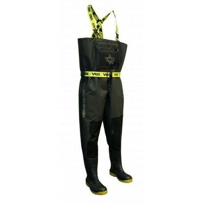 Tex 305-70E Breathable Chest Wader Carbon Black