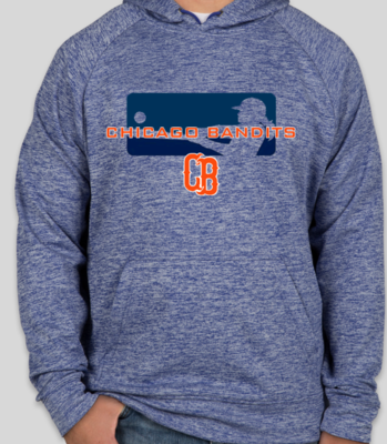 Heather Blue Bandits Hoodie