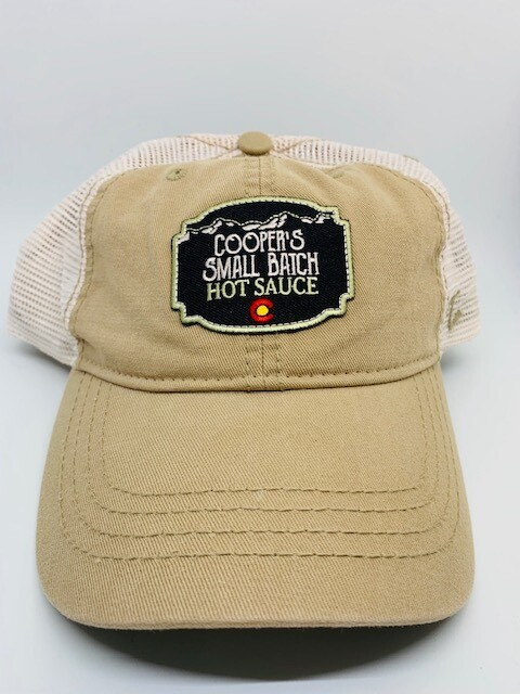 Cooper's Small Batch Hot Sauce Baseball Hat