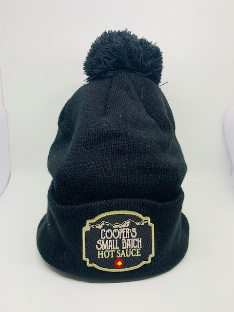 Cooper's Small Batch Hot Sauce Winter Beanie