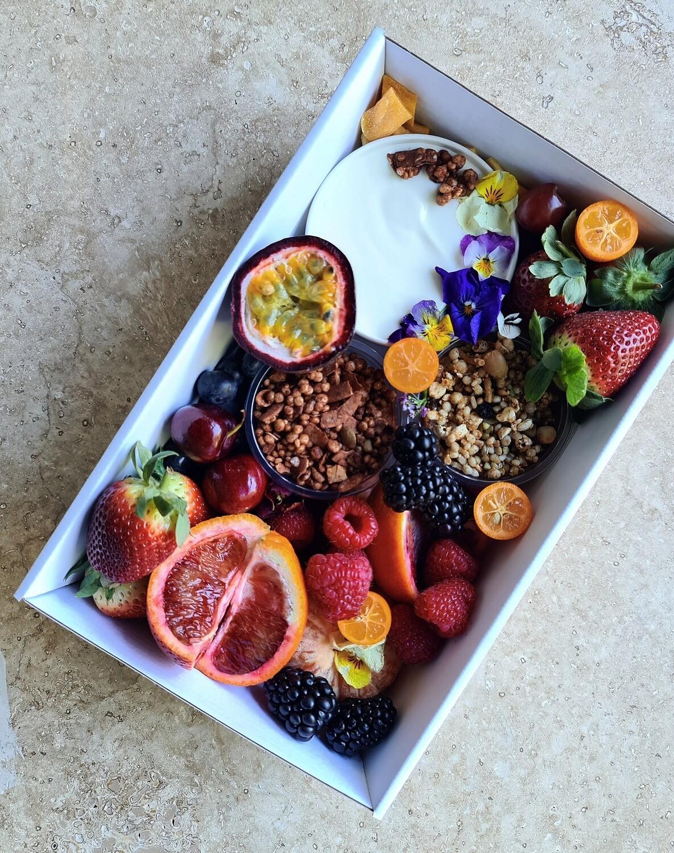 Yogurt, Fruit and Muesli Box