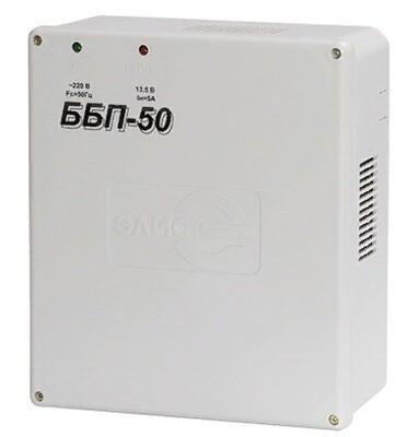 ББП-50 блок бесперебойного питания пластиковый корпус 12В, 5А, под акб 7Ахч