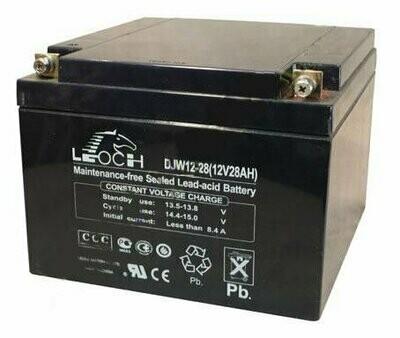 Leoch DJW 12-28 Аккумуляторная батарея 12В, 28 Ач