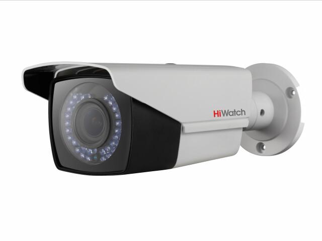 DS-T206P (2.8-12 mm)-Цилиндрическая HD-TVI видеокамера с ИК-подсветкой до 40м и PoC