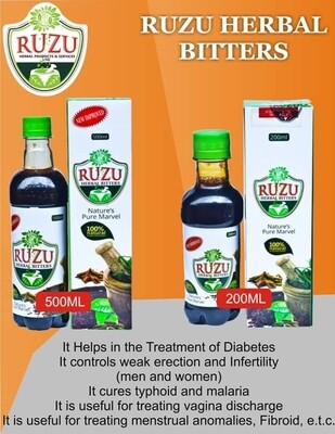 Ruzu Herbal Bitters For Pile