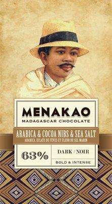 MENAKAO 63% Arabica & Cacao Nibs & Sea Salt