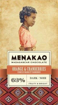 MENAKAO 63% Orange & Cranberries