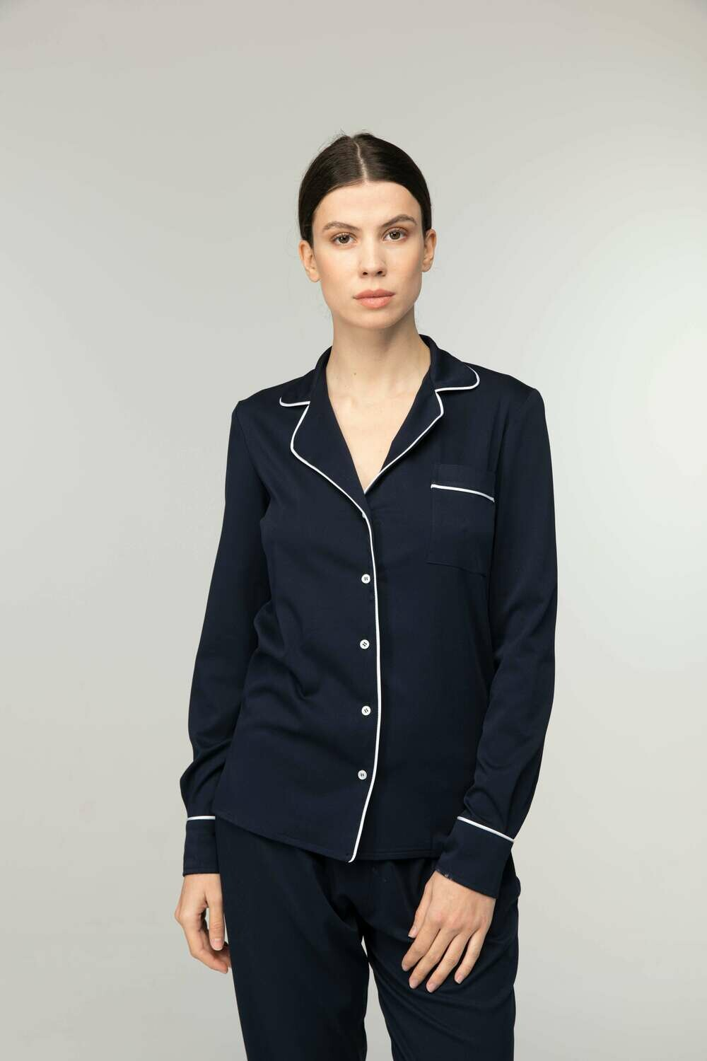 NEW YORK INDIGO SHIRT