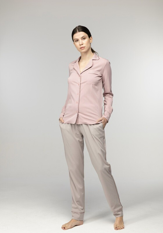 PARIS ROSE PAJAMA SUIT