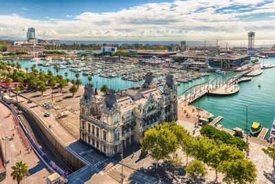 Les drassanes i la façana marítima de Barcelona