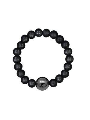 NEIGUAN® -ACUPRESSURE BRACELET -set (Metallic Black)