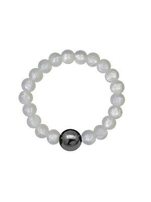 NEIGUAN® -ACUPRESSURE BRACELET -set (Pearl White)