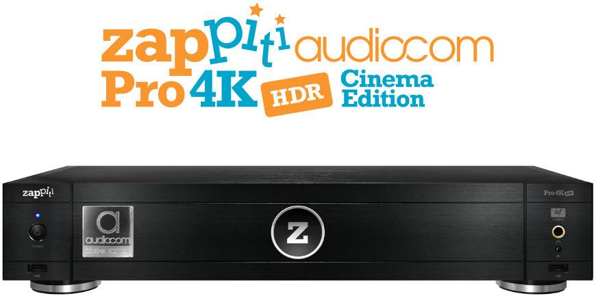 Zappiti PRO 4K HDR Audiocom Cinema Edition