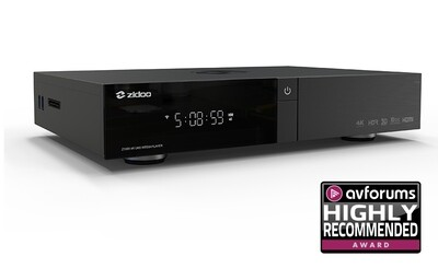 Zidoo Z1000 PRO 4K UHD Media player