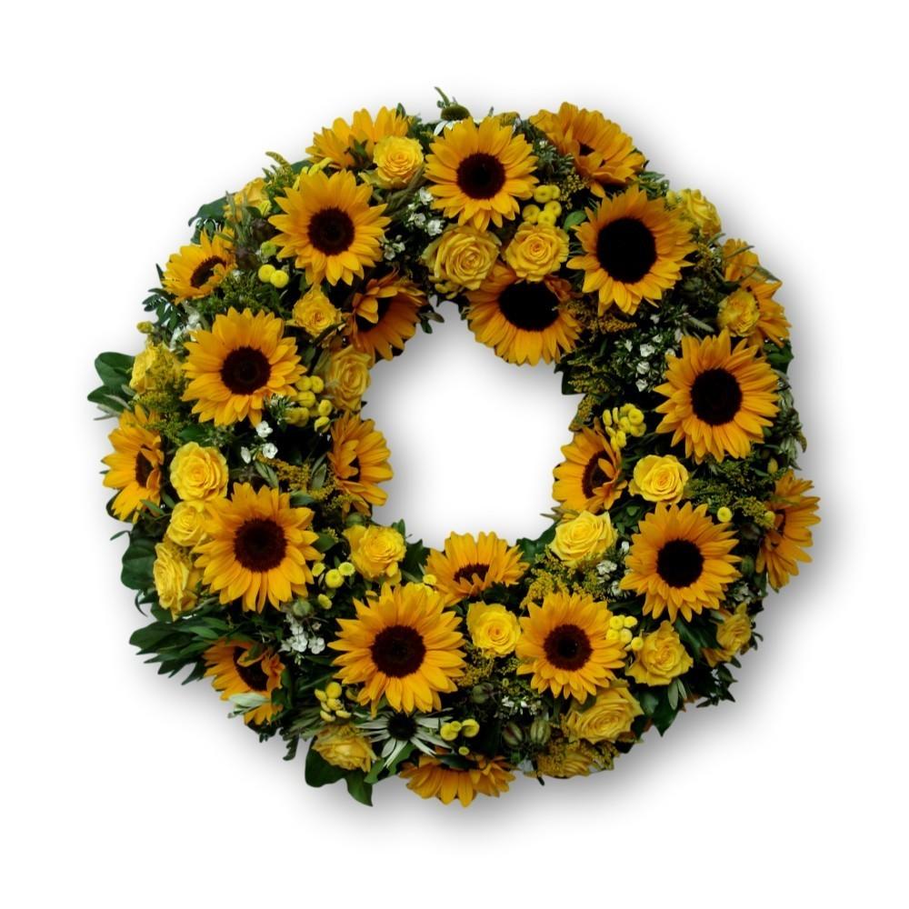 Rundumkranz Sommer Sonnenblumen