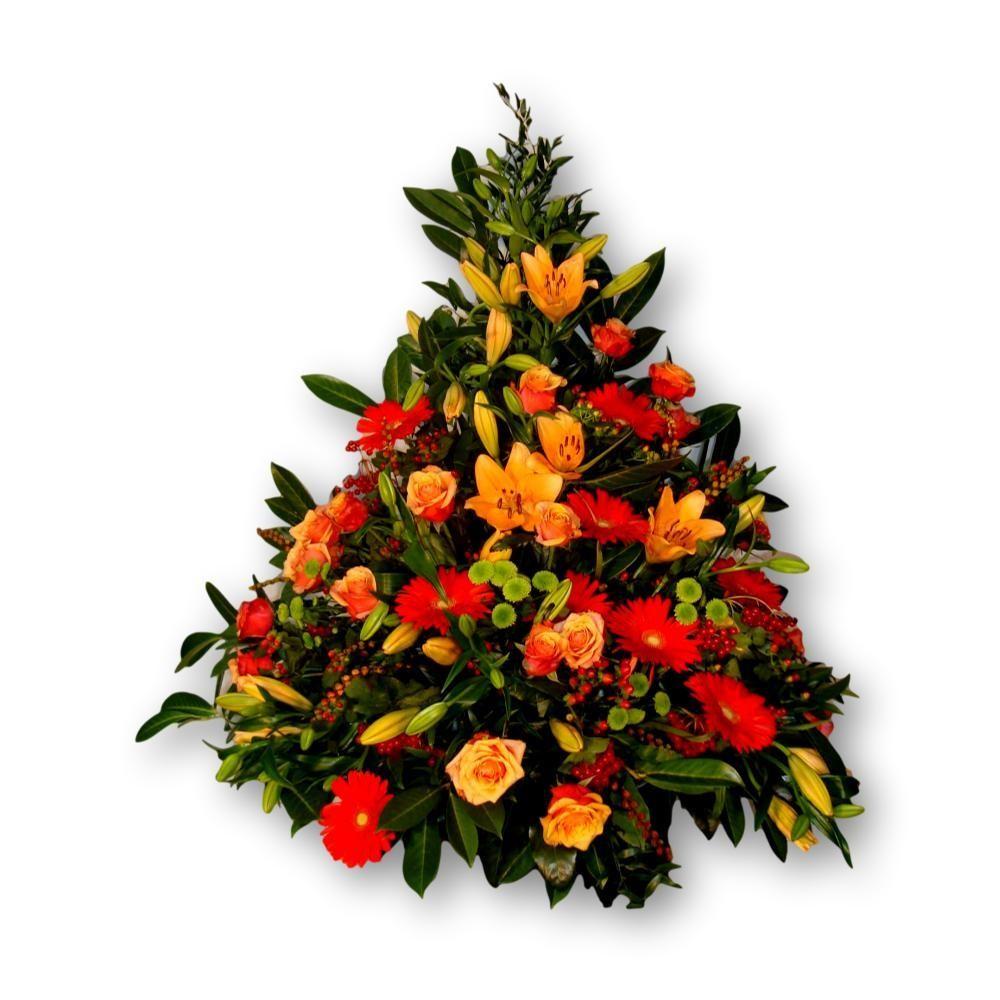 Dreieckgesteck Four Season - orange/rot