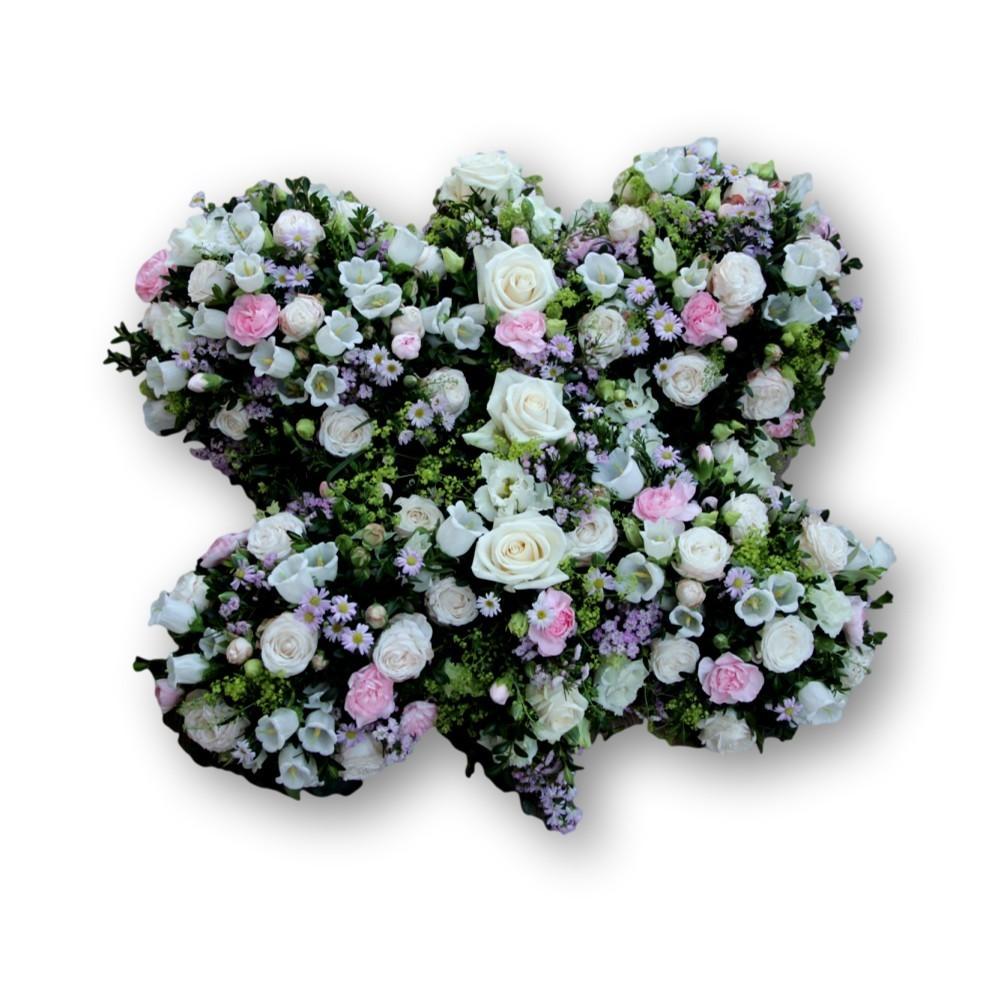 Schmetterling rosa/weiss