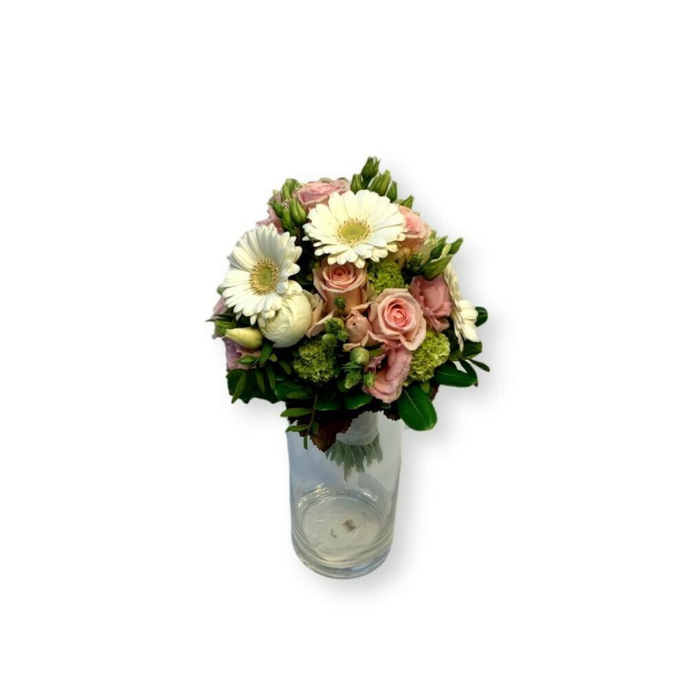 Brautstrauss rosa-weiss