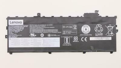 01AV494 - Lenovo ThinkPad X1 Carbon 6thGen 3Cell 57Wh 11.52v 4.95Ah LI-ION InternalBattery