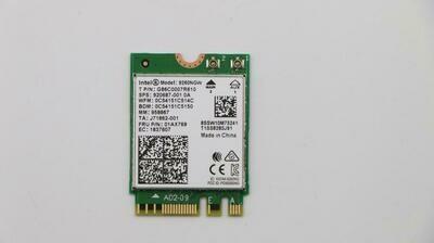 01AX769 - Lenovo ThinkPad Series Wireless Card 9260NGW