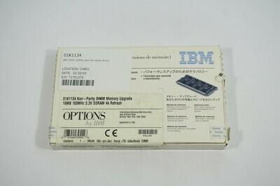 01K1134 - IBM 16Mb 100Mhz Non-Par Sdram Dimm