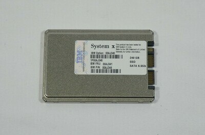 00AJ340 - IBM 240Gb SSD SATA-600 1.8 inch Internal Hard Disk Drive